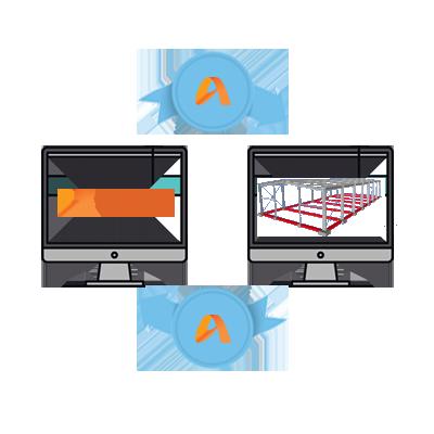 STRUMIS - Oprogramowanie dla produkcji konstrukcji stalowych - Zintegrowana komunikacja modeli 3D