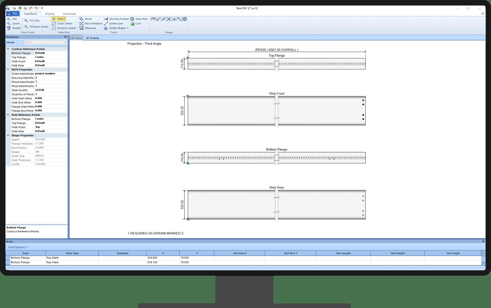 Dokumentacja konstrukcji stalowych | system STRUMIS