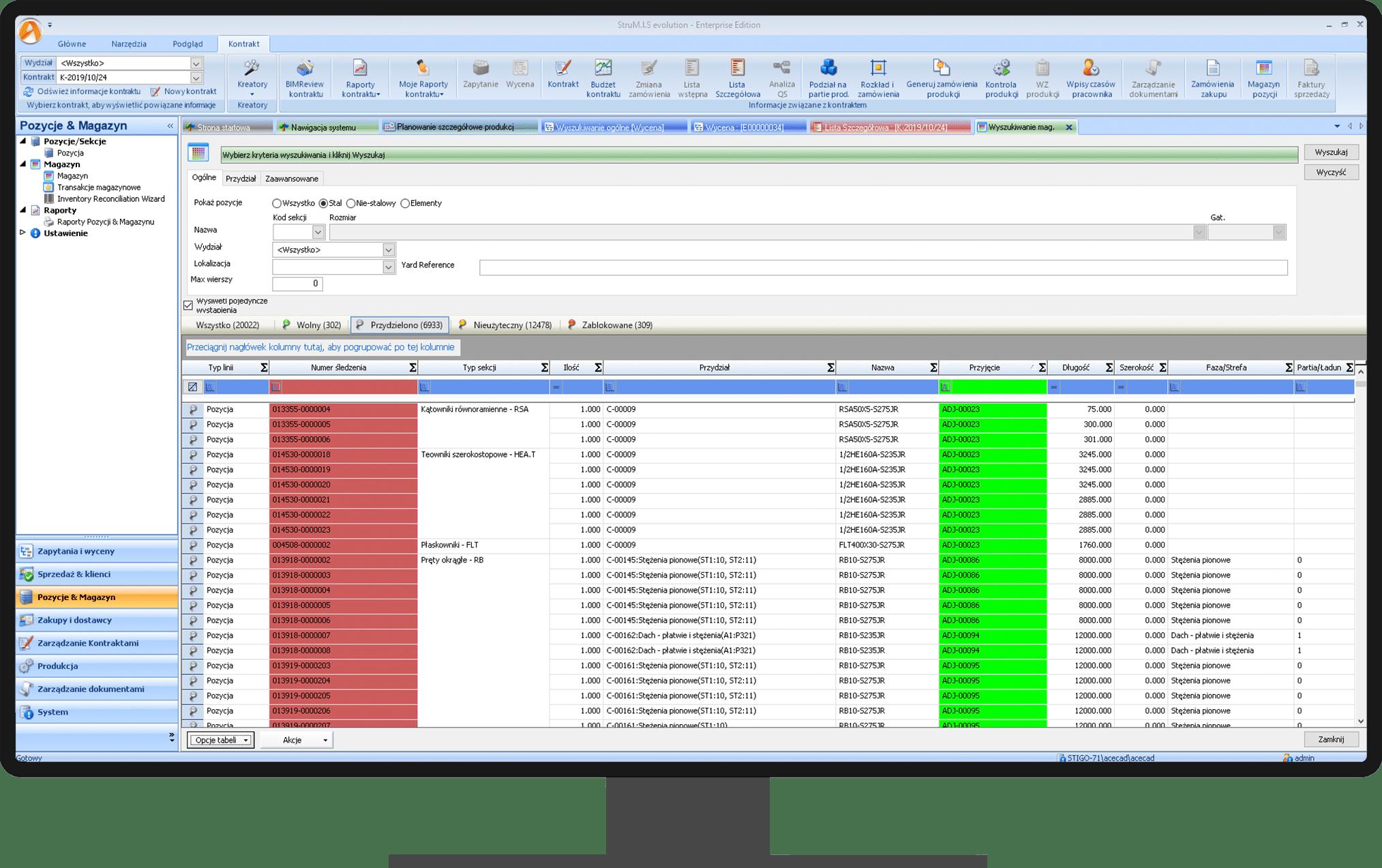 Zarządzanie magazynem - system STRUMIS